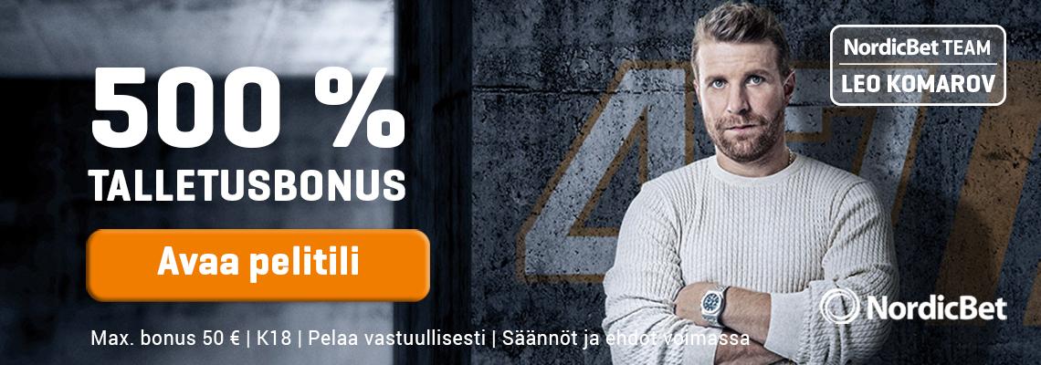 NordicBet helmikuun superdiili